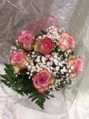 Ramo 6 rosas rosas