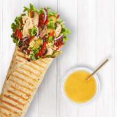 Wrap Green Vege Hummus + Sok