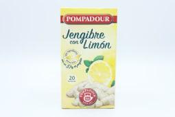 Infusión jengibre limón pompadour