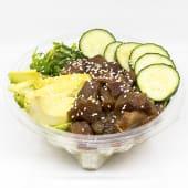 Poke bowl de atún rojo