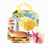 KIDS Меню з чізбургером