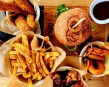 Platou burger 2 persoane