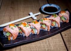 Crazy Salmon Maki