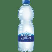 Мiнеральна вода Аква Мiнерале газована пляшка (0,5л)