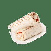 Wrap de pollo y queso (caliente)