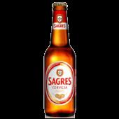 Cerveja Sagres 0,33L Garrafa