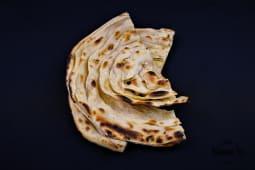 Paratha z masłem