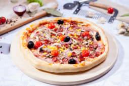 Pizza cupidon mare (cu bordura de brânză)
