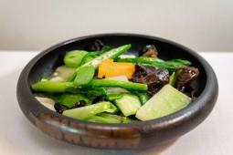 Verduras Chinas De Temporada Salteada