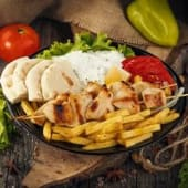 Suvlaki portion