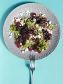 Салат з домашнім сиром і буряком (220г)