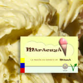 Sorbete de Maracuyá (1 lt.)