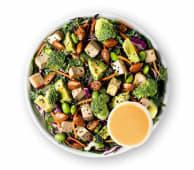 Super Salada de Vegetais e Tofu