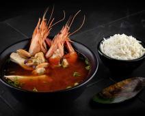 Seafood miso soup