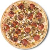 Pizza deluxe (familiar)
