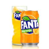 Fanta Naranja lata 33ml.
