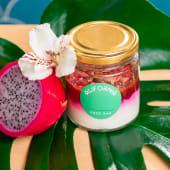 Fruta dragón con yogur