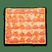 Pizza tradicional de jamón (grande)