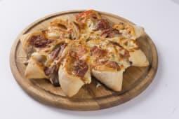 Піца HUT з сервелатом і шинкою (750г)