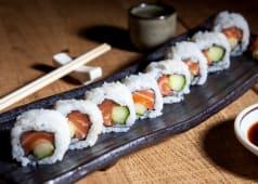 Salmon Cucumber Maki