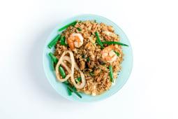 Рис з морепродуктами (400г)