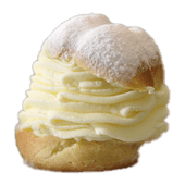 Bandeja de bocaditos de nata (1 Kg.)