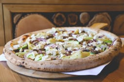 Pizza Vegana de post