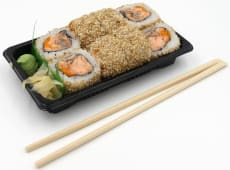 Lady salmon roll