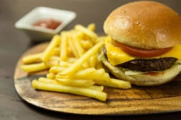 Beef Burger Chips