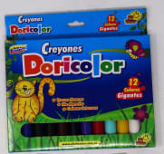 Crayones Colores Largos Gruesos Cjax12Un