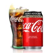 Coca-Cola Zero Azúcar Zero Cafeína lata (330ml.)