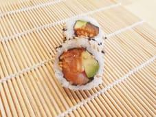 Spicy salmón crunch roll (8 uds.)