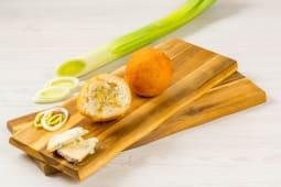 Arancini gorgonzola e porri 1 pezzo