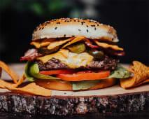 Nachos Burger