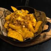 Patatas grill cheddar