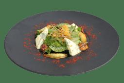 Салат зі шпинатом, грушею і горгонзолою (200г)