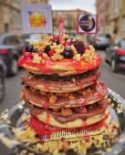 Pancake de frutos rojos