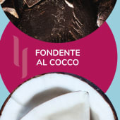 Barattolino ''Fondente al cocco'' 500gr