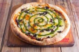 Pizza de mushrooms