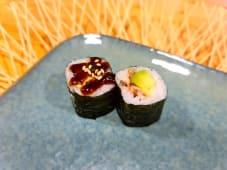 Maki de anguila & aguacate (8 uds.)
