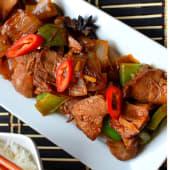 Dry Chili Pork