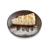 131. Cheesecake cioccolato bianco e zenzero
