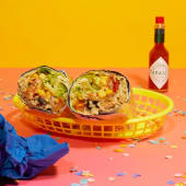Crea il tuo burrito a modo tuo vegetariano