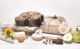 Colomba pere e cioccolato fondente