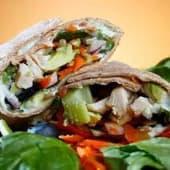 Avocado Vegetable Wrap