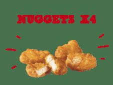 Chicken McNuggets™ x4