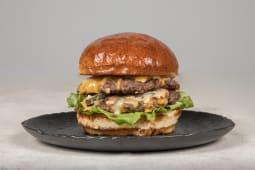 200% beef burger
