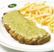 Seitan com Salada Verde