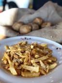 Cartofi prajiti cu parmezan