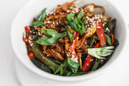 Рисова локшина з овочами (350г)